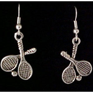 Tennis Racquet Earings - Unique Sports Accessories