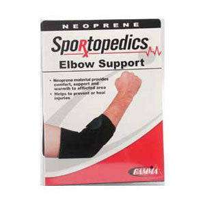 Gamma Sportopedics Neoprene Elbow Support - Unique Sports Accessories