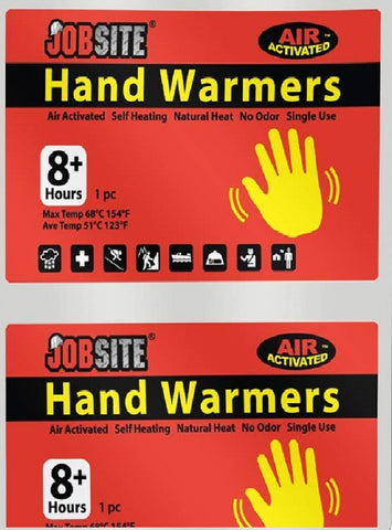 Job Site Hand Warmers 1 Pair