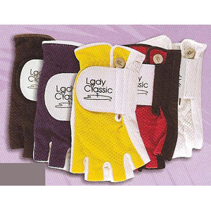 Lady Classic Mesh Half Finger Golf Glove - Unique Sports Accessories - 1