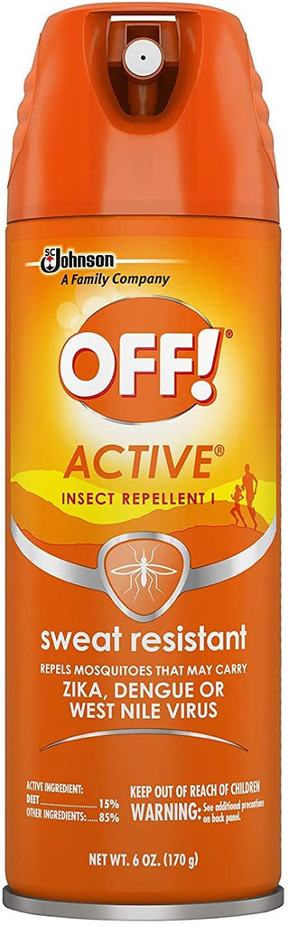 Off Active Insect Repellent Spray 6oz