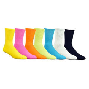 Red Lion Florescent Crew Socks - Unique Sports Accessories - 1
