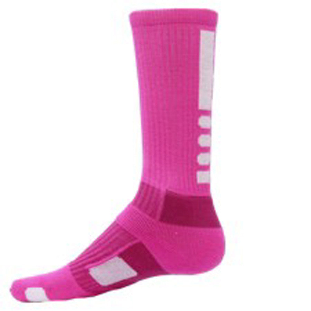red lion legend socks neon pink/white