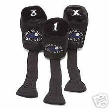 MLB Team Licensed Golf Headcovers 3 Pack - Unique Sports Accessories - 2