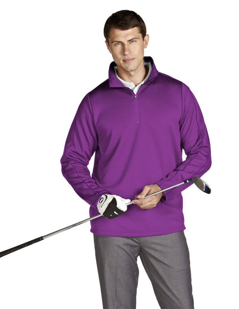 Slazenger Mens 3/4 Zip Pullover Excel 100721 - Unique Sports Accessories
