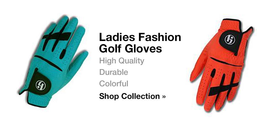 HJ Ladies Fashion Golf Gloves