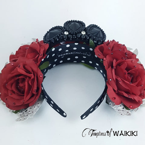 Black Bejewelled Headband