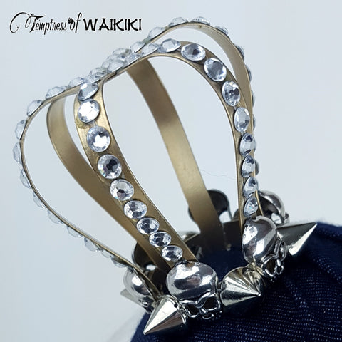Jewel encrusted Crown hat