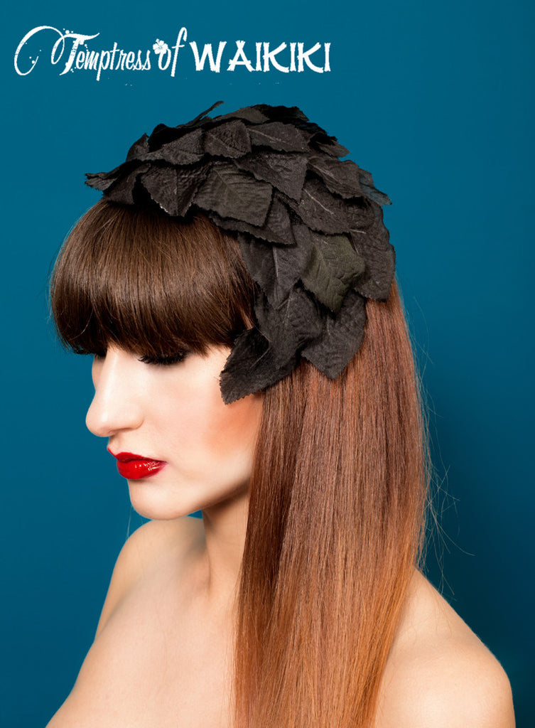 Vintage-inspired headpiece, royal ascot hats