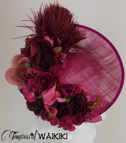Pink Flower Royal Ascot Hats for Sale UK