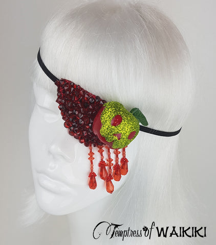 snow white poison apple accessory eye patch