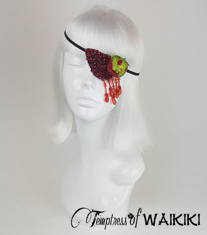 snow white poison apple accessory eyepatch