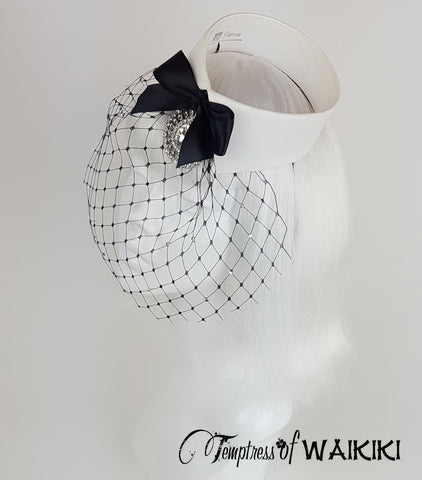 Vintage Collar Birdcage Hat, quirky british millinery