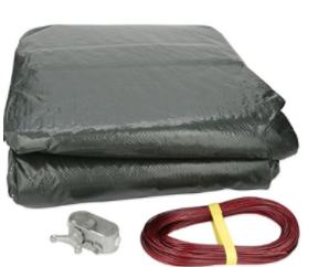 GLI POOL PRODUCTS Winter Cover Classic for 15x30 OV AG