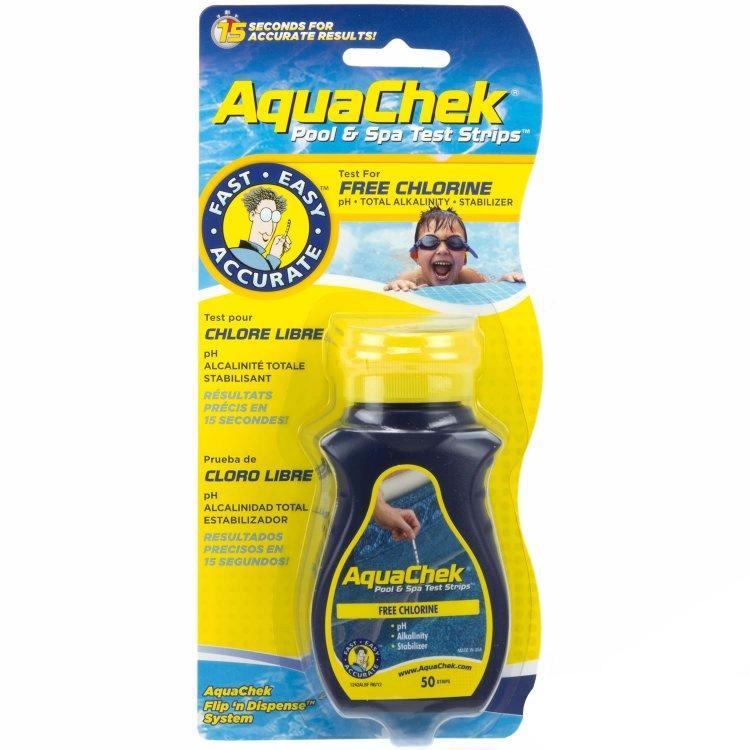 Aquachek Yellow Test Strips 4 In 1