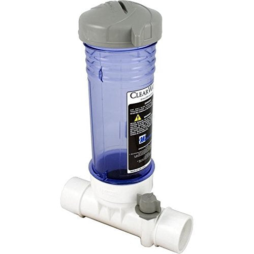 "Clearwater In-Line Chlorinator 2"" White"