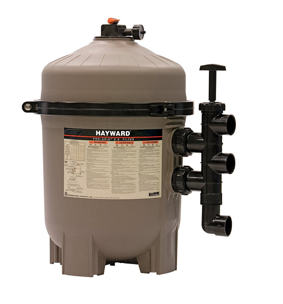 Hayward 36 Sq Ft DE Filter, without  Valve