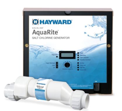 HAYWARD AquaRite with 40,000 gal Cell