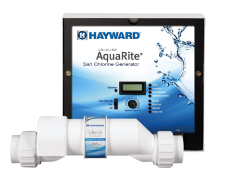 HAYWARD AquaRite with 25,000 GAl Cell