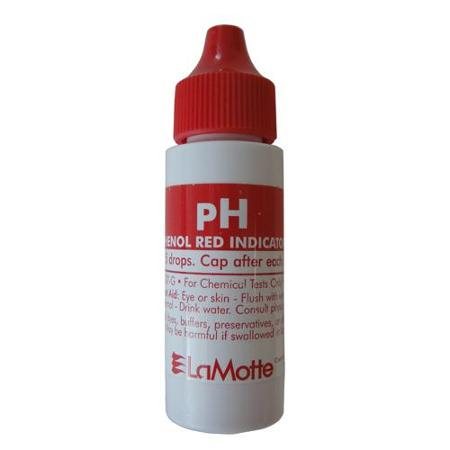 Lamotte 100 vial Phenol red test vial