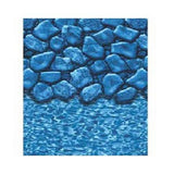 GLI POOL PRODUCTS Liner 15ft x30ift Oval Boulder Style