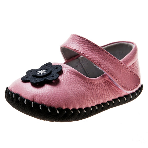 Little Chic Mary Jane's in Deep Pink