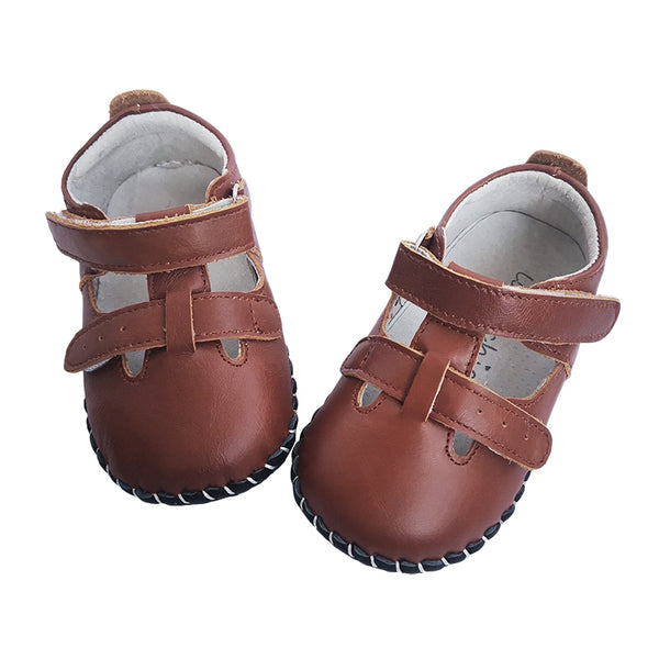 Little Chic Infant Sandals in Brown