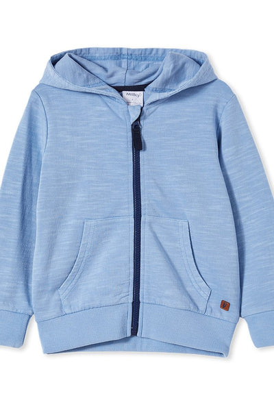 Garment Dye Hood in Powder Blue
