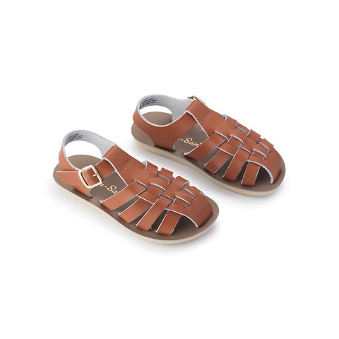 Sun-San Sailor Sandal in Tan