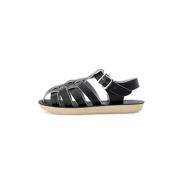 Sun-San Sailor Sandal in Black