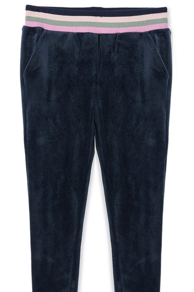 Velour Tipping Track Pants