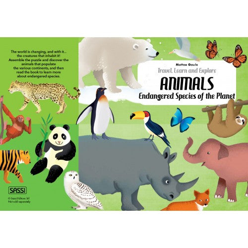Endangered Species of the Planet Puzzle (205pcs)