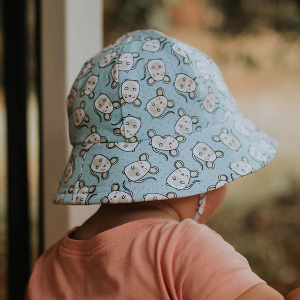 Mouse Print Toddler Bucket Hat - Lucky Last 2! (Size: 1-2y)