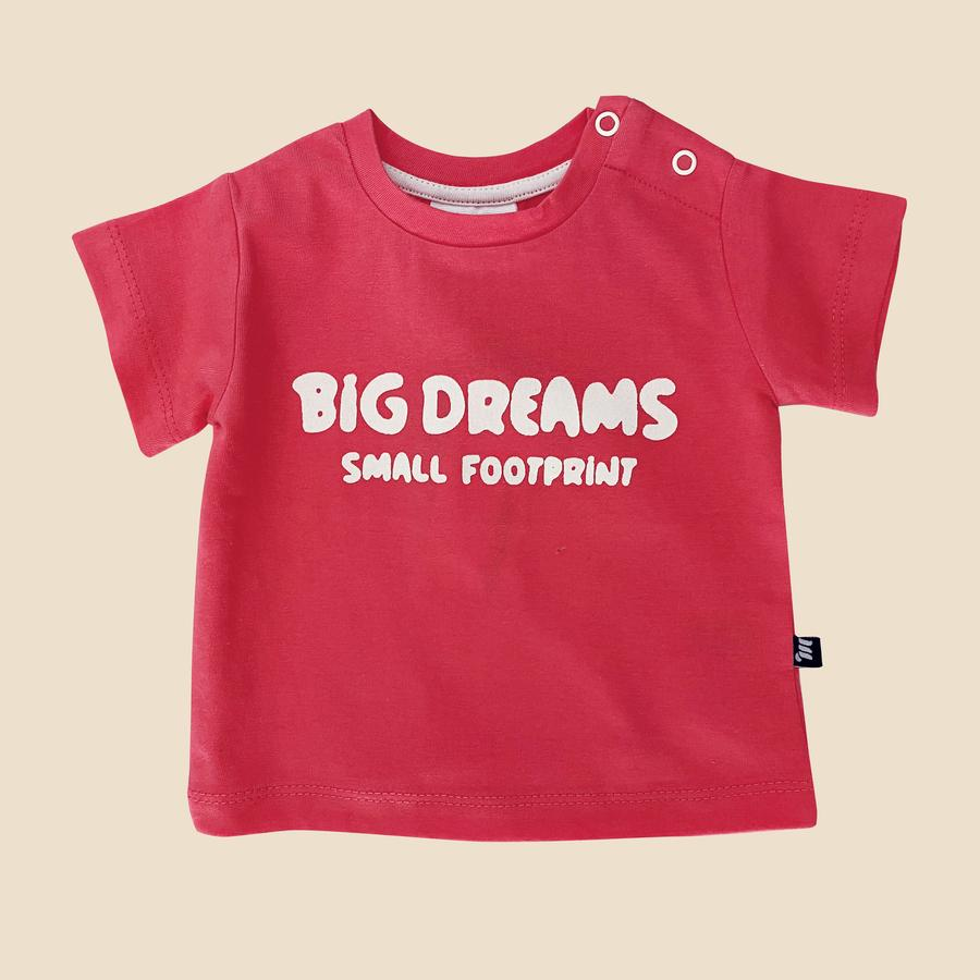 Big Dreams Tee in Candy Pink