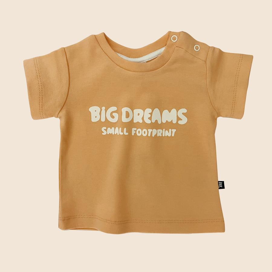 Big Dreams Tee in Peach