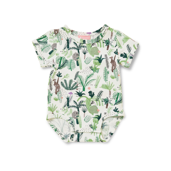 Fern Gully Short Sleeve Bodysuit