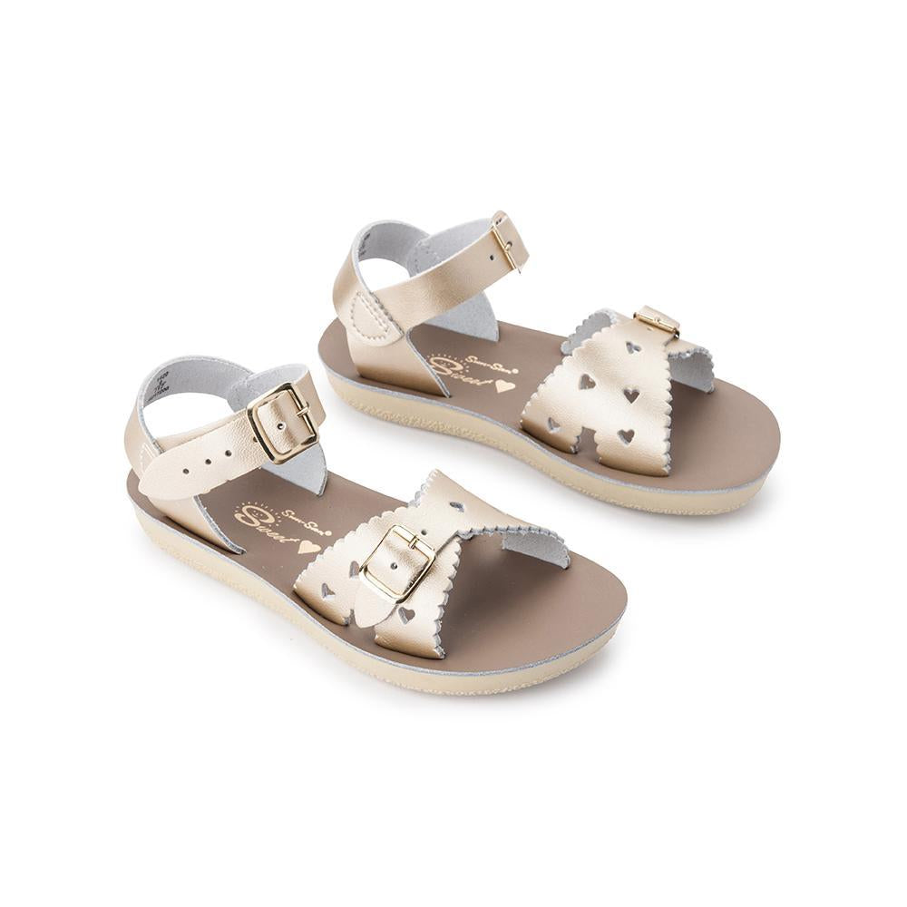 Sun-San Sweetheart Salt Water Sandal in Gold