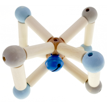 Natural Twisty Blue Rattle - Lucky Last!