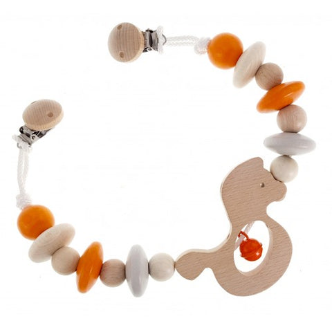 Pram Chain Natural in Orange
