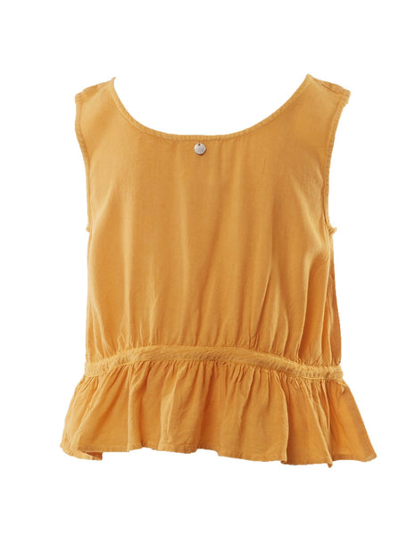 Supple Washed Tank in Honey Gold