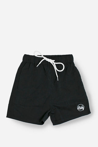 Board Shorts in Black - Lucky Last! (Size 1 & 4)