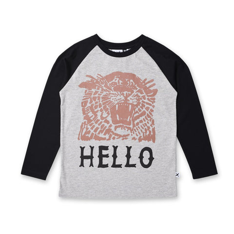 Hello Bye Tiger Tee