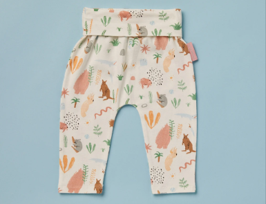 Outback Dreamers Baby Yoga Leggings