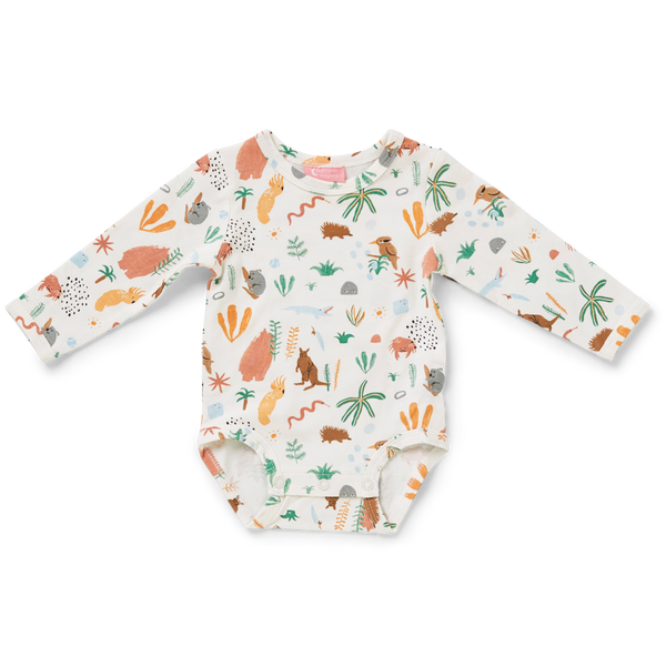 Outback Dreamer Long Sleeve Bodysuit