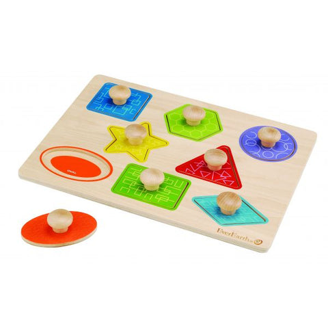 Pull Out Shape Puzzle