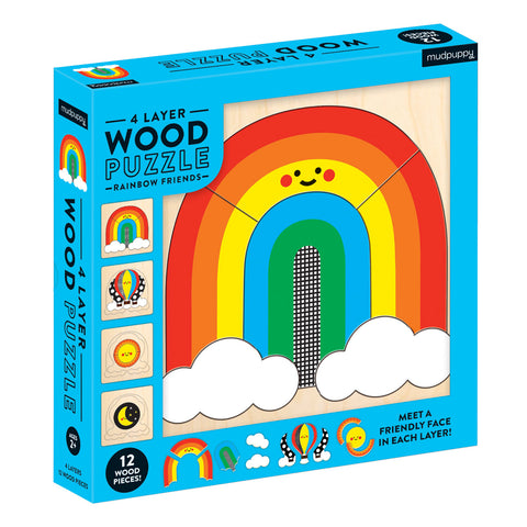 Rainbow Friends 4 Layer Puzzle