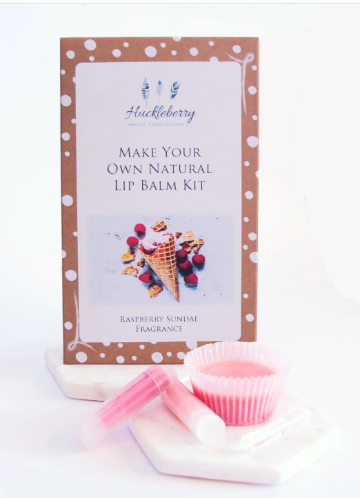 Make Your Own Lip Balm Kit in Raspberry Sundae