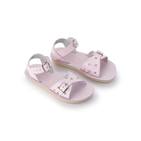 Sun-San Sweetheart Salt Water Sandals in Shiny Pink