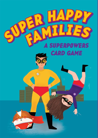 Super Happy Families Card Game