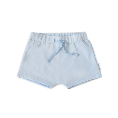 Shorties in Pale Blue